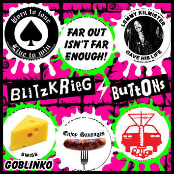BLITZKRIEG BUTTONS - BUTTONS OF THE DAY - S134