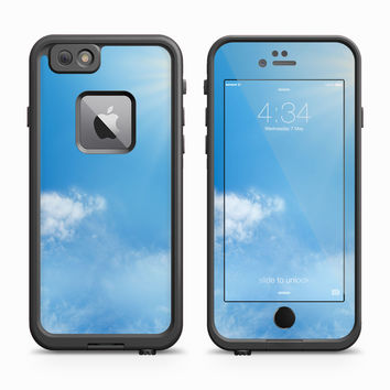 Beautiful Blue Sky with Sun Shining Skin for the Apple iPhone LifeProof Fre Case