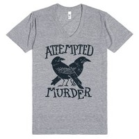 Attempted Murder-Unisex Athletic Grey T-Shirt