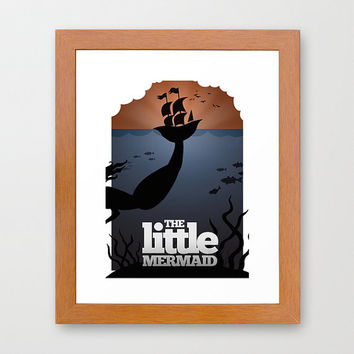 Disney's The Little Mermaid Minimalist Poster