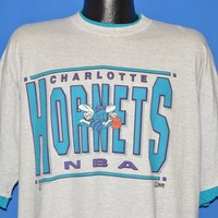 90s Charlotte Hornets t-shirt Extra Large