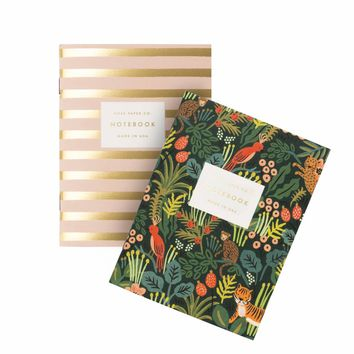 Jungle Pocket Notebooks by RIFLE PAPER Co.   Made in USA