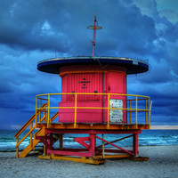 Miami - South Beach Lifeguard Stand 005