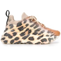 Leopard Print Fade Sneakers by Stella McCartney