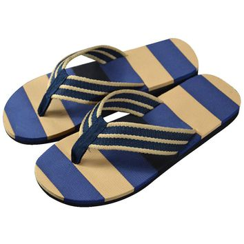 Null 2017 Summer Sandals Men Fashion Stripe Flip Flops Shoes Sandals Male Comfortable Flops Slipper Flip-flops indoor & outdoor