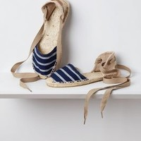 Milay Espadrilles   by Anthropologie Navy 39 Euro Flats