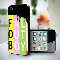 10271 FALL OUT BOY LOGO SKIN - iPhone 4/4s Case