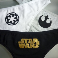 Star Wars Triple Panty Set