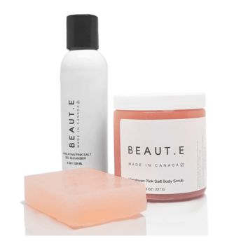 Himalayan Pink Salt Cleansing Kit