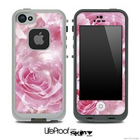 Pink Rose Skin for the iPhone 5 or 4/4s LifeProof Case