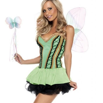 Sexy Tinkerbell- Fairy/Sprite Costume  sc 1 st  wanelo.co & Best Tinkerbell Costume Products on Wanelo