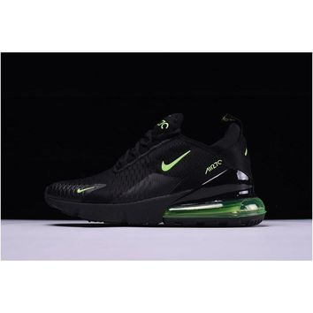 Mens Size Nike Air Max 270 Black Green Trainers Free Shipping
