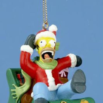Christmas Ornament - Homer Simpson