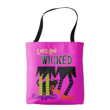 Hubble Bubble Witches Spell Spooky Halloween Tote Bag