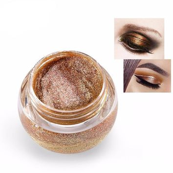 3D Glitter Metallic Cream Eyeshadows Palette