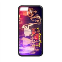 MakersHouse Laser Technology Printed Fifth Harmony iPhone 5C Case Cover Rubber(Black)