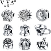 Happy Birthday Wishes Sterling Silver Charm Bead