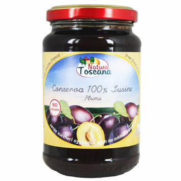 Organic Italian Plums Compote by Probios 14.1 oz