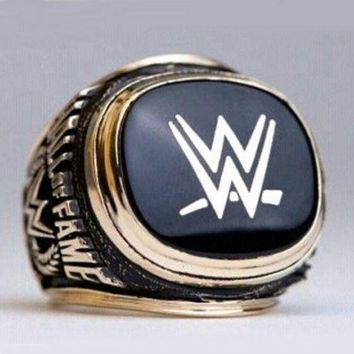 DCCKWA2 SPORTS RING * 2015 WORLD WRESTLING * CHAMPIONSHIP HALL OF FAME/...fast delivery