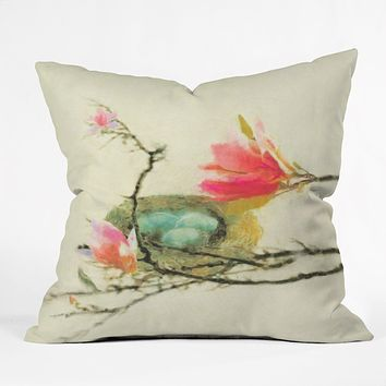 Hadley Hutton Magnolia Nest Throw Pillow