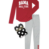 University of Alabama Thermal Sleep Gift Set