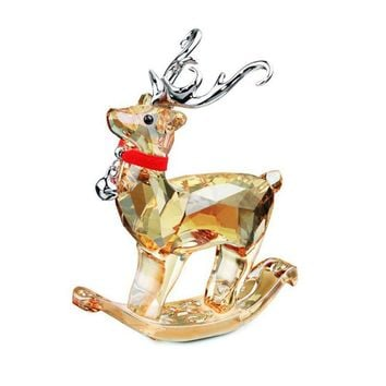 Swarovski Crystal Figurine Christmas Winter Reindeer #5155704