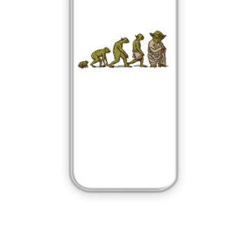 Evolution of Yoda - iPhone 5&5s Case