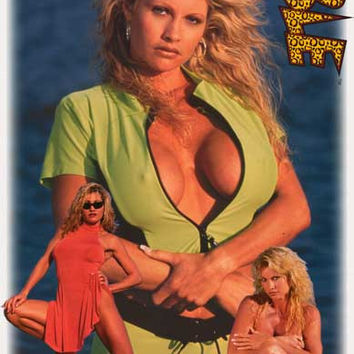 Sable 1998 WWE Wrestling Poster 22x34