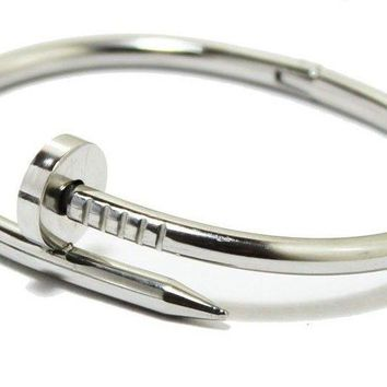 Cartier Nail Bracelet white gold 19