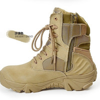 Men Military Boots special forces tactical desert combat boots outdoor shoes army boots Infantry Desert tactical Boots