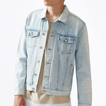 PacSun Light Wash Denim Jacket at PacSun.com