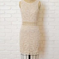 Lillian Crochet Dress-FINAL SALE