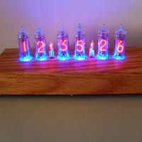 Six Digit Nixie Tube Clock The Grande Bambino Nixie by electronico