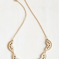 Cutting Wedge Necklace | Mod Retro Vintage Necklaces | ModCloth.com