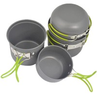 4pcs Hiking Cookware