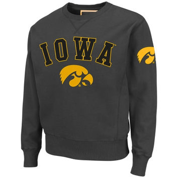 Iowa Hawkeyes Hardware Sweatshirt - Charcoal