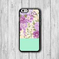 Floral Mint Wedding Flower Green Bouquet Succulent Art iPhone 6 Cover, Love iPhone 6 Plus, iPhone 5S, iPhone 4S Hard Case, Rubber Phone Gift