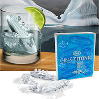 PLASTICLAND - Gin & Titonic Ice Cube Tray