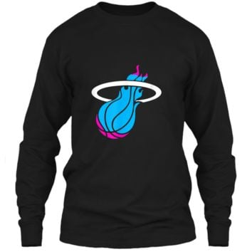Miamis vices heat basketbal  LS Ultra Cotton Tshirt