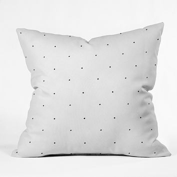 Social Proper Tiny Dot Throw Pillow