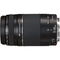 Canon - EF 75–300mm f/4–5.6 III USM Telephoto Zoom Lens - Black