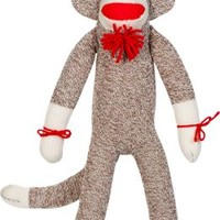 Classic Sock Monkey Stuffed Animal