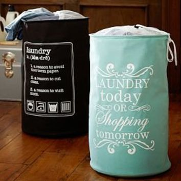 Drawstring Bags, Monogrammed Laundry Bags & Cute Laundry Bags   PBteen