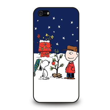 CHARLIE BROWN PEANUTS COMICS SNOOPY iPhone 5 / 5S / SE Case