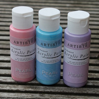 Pearl Finish Acrylic Paint from Papermania Artiste range 59ml