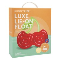 Luxe Lie-On Float Cherry