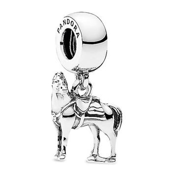 Disney Maximus Charm by Pandora Tangled Silver Jewerly New With Pouch