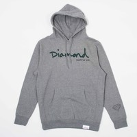 OG Script Pullover Hood in Heather