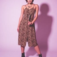 Meena Dress (Leopard)