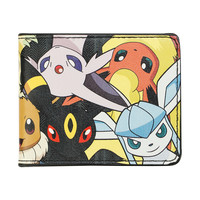 Pokemon Eevee Evolutions Bi-Fold Wallet